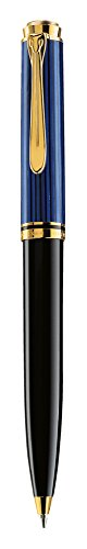 (Pelikan Souveran K600 Series Ballpoint Pen -Black/Blue )