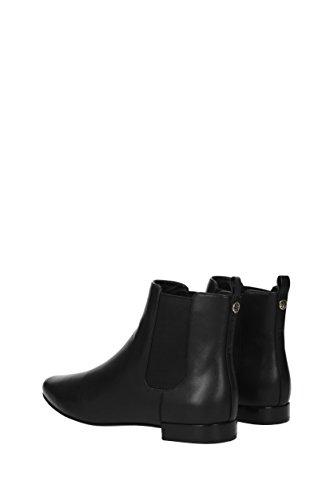 Black Boots Ankle Leather Women Burch Uk Tory 32462 CfZqxF0Ew