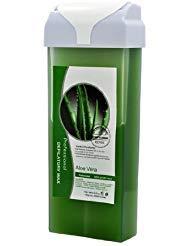 Roll-On HOT Depilatory Wax Cartridge ALOE VERA Heater Waxing Hair Removal Salon ()