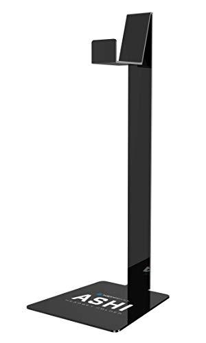 Newskill Ashi - Soporte Fabricado en Metacrilato Auriculares,(Estructura compacta, Gran compatibilidad) Color Negro