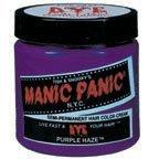 Manic Panic Purple Haze Полу Постоянный Vegan Краска для волос, 4FL OZ