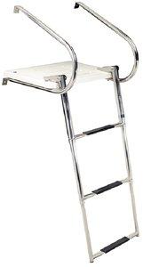 Seachoice 3 STEP TELESCOPING Universal Platform Ladder