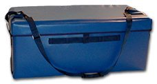TCB Insulated Bags TB-1-Blue Food Transport Bag with Shoulder Strap and Box Lid, 18.5'' x 36'' x 14'', Blue by TCB Insulated Bags