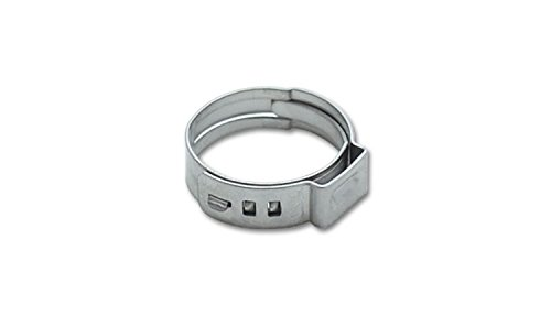 Vibrant Performance 12260 Stainless Steel Pinch Clamp, 2 Pack (20.3-23.5mm)