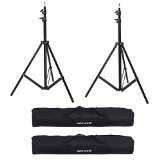 Neewer Set of Two Photography 10ft/3m Aluminum Tripod Light