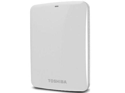 (Old Model) Toshiba Canvio Connect 500GB Portable Hard Drive, White (HDTC705XW3A1) by Toshiba