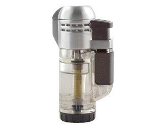 XIKAR Tech Double Lighter, Clear ()