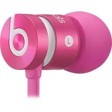 OnlinemartUS - Beats by Dr.Dre UrBeats Noise Isolation Wired In-Ear Headphones - Pink