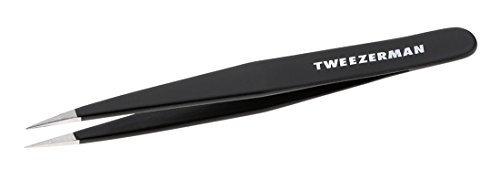 Tweezerman Point Tweezer (Tweezerman Stainless Steel Point Tweezer, Midnight Sky)