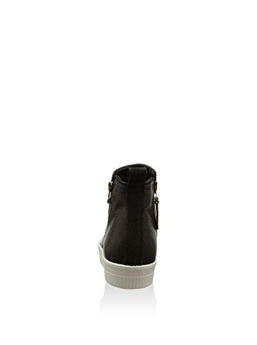 Mjus Stuff, Damen Stiefel & Stiefeletten  schwarz Schwarz EU 38