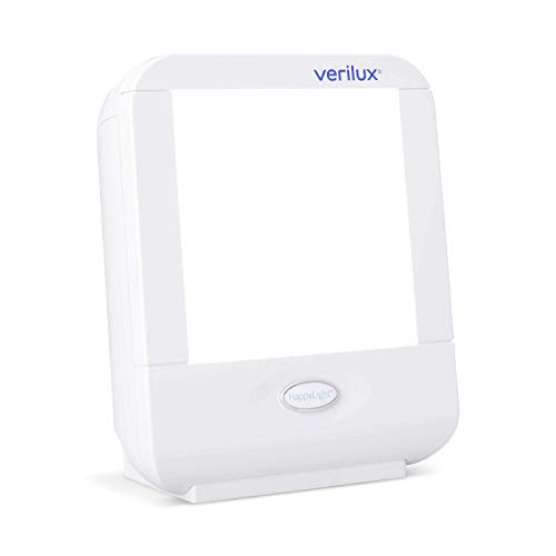 Verilux HappyLight Compact Personal, Portable Light Therapy Energy Lamp