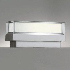 ODELIC LED照明器具 アウトドア 門柱灯 明暗センサ付 LED電球 電球色タイプ ミニクリプトン形5.8W(E17)(ランプ付) 白熱灯40W相当 防雨型 OG042177LD B01DU0BWFI 15033