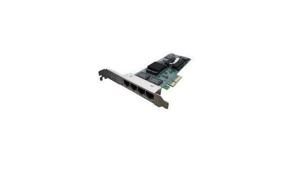 Intel Pro//1000 ET Quad Port PCI-E Server Adapter With Both Brackets E1G44ET-DELL HM9JY Dell