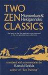 Two Zen Classics, Katsuki Sekida from Chinese, 0834801310