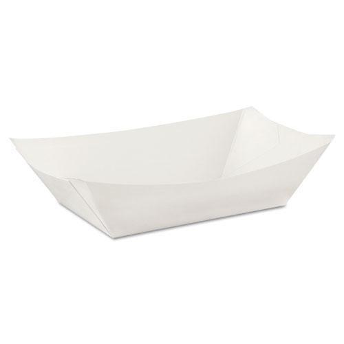 DXEKL300W8 - Kant Leek Polycoated Paper Food Tray (Leek Kant Dixie)