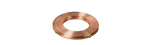 - 3/4 OD Refrigeration A/C Copper Tubing 50 FT Coils MADE IN USA