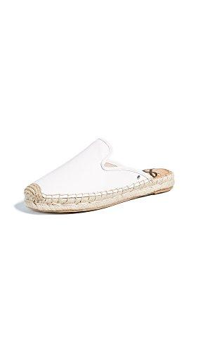 Sam Edelman Women's Kerry Mule Bright White Leather