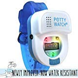 Potty Time: Original Potty Training Watch | 2019 Version = Now Water Resistant | Set Automatic Timers + Music & Lights for Kid Friendly Reminders, Warranty (Toddler, Preschool Stocking Stuffer), Blue (Potty Training Watch For Toddlers)