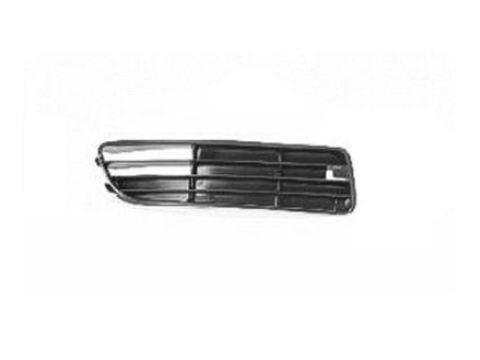 PASSENGER SIDE BUMPER GRILLE Audi A4, Audi A4 Quattro OUTER; WITHOUT FOGS;. (GRILLES DO NOT COME WITH MANUFACTURER EMBLEMS / LOGOS. THEY ARE TRADEMARK - Passenger Side Bumper Grille