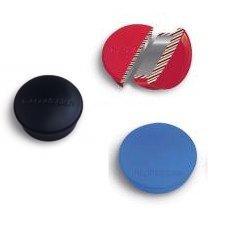 20 Profi-Magnete für Whiteboards und Tafeln - rot - 20mm - hohe Haftkraft