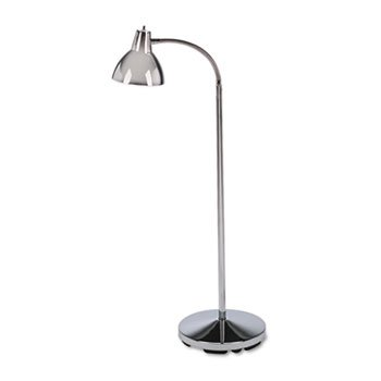 New Classic 3 Light - New - Classic Incandescent Exam Lamp, Three Prong, 74 Inch, Gooseneck, Stainless Steel by Braun