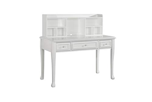 White Desks Hutch - Picket House Furnishings Jenna Writing Desk with Hutch in White
