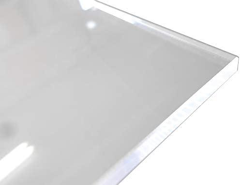 アクリル板 (押出し) 透明 - 板厚 (8mm) 1080mm × 645mm