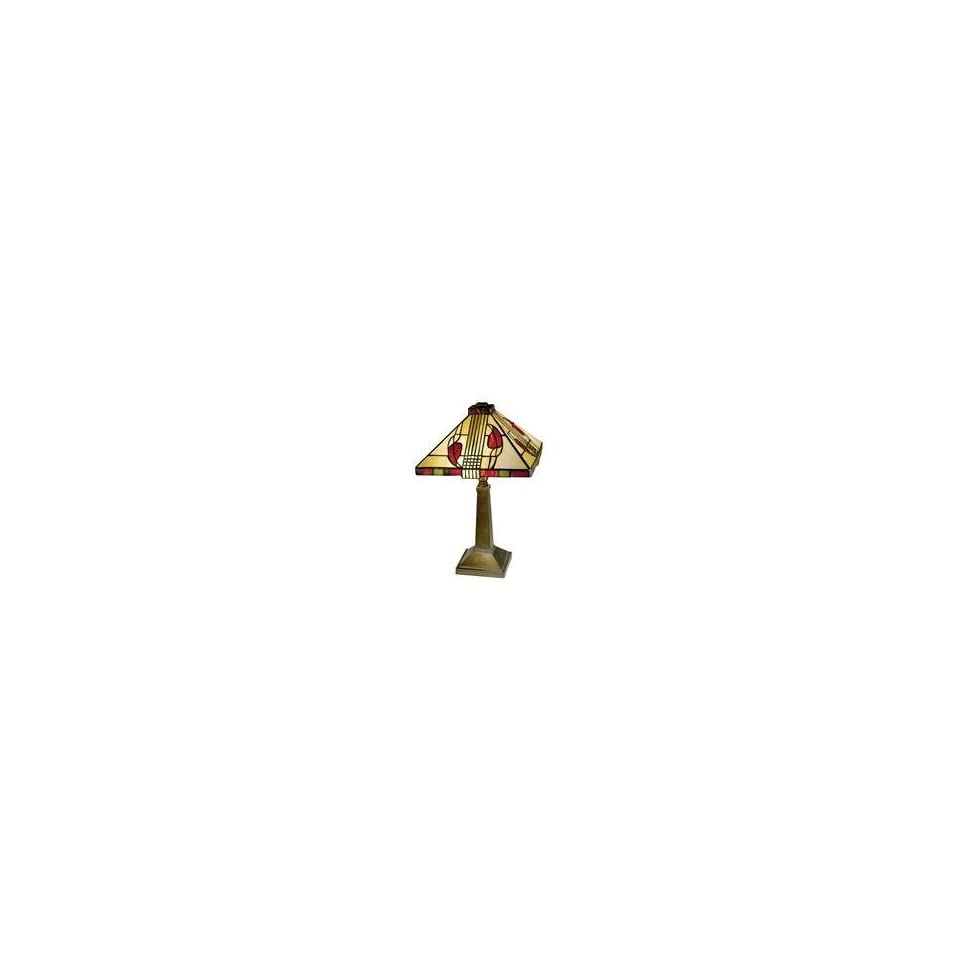 Dale Tiffany 2724 797 2 Light Table Lamp in Antique Bronze