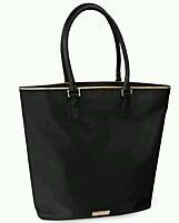 43112bef2a0 Image Unavailable. Image not available for. Colour  Versace Parfums Black  Tote ...