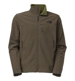 The North Face Men's Apex Bionic Jacket, Black Ink Green, SM