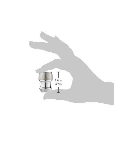 McGard 24658SL 4 /écrous antivol Haute s/écu 14x1,5//60/°// 39mm// Douille 21mm