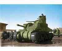 M3 Lee US Medium Tank - Model Kit (M3 Lee Tank Model)
