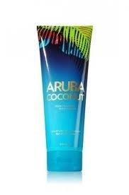 Bath and Body Works 2013 Escape Collection Aruba Coconut Triple Moisture Body Cream 8 Oz