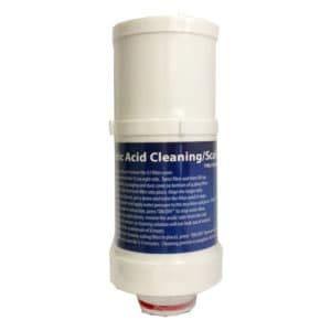 MX//MXL 5-15 Filter Life Ionizer Citric Acid Cleaning Cartridge
