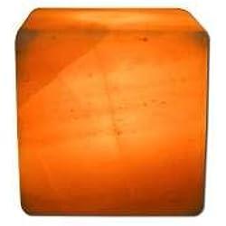 Aloha Bay Himalayan Salt Lamp with Free Cord & Bulb 4~6 Lbs