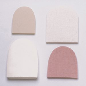 Briggs Health Care Stein's Adhesive Felt Pads #13f Heel, 1/4''
