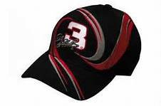 2001 Intimidator Dale Earnhardt Sr #3 Black With Red & Silver Accents Vortex GM Goodwrench Service Plus Hat Cap One Size Fits Most OSFM Chase Authentics (This Was the Rockingham Tribute Hat Worn By Pitcrews by Chase Authentics