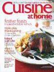 Cuisine At Home, December 2007, Issue No. 66, FESTIVE FEASTS INSPIRED HOLIDAY MENUS ()