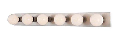 6 Light Wall Bracket (Volume Lighting V1026-33 6-Light Bath Bracket)