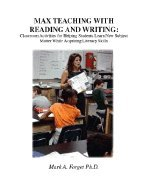 Max Teaching With Reading & Writing - Classroom Activities to Help Students Learn Subject Matter while Acquiring New Skills (04) by PhD, Mark A Forget [Paperback (2004)] pdf epub