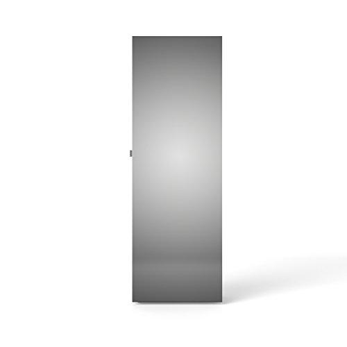 Tvilum 710094949 Bright Shoe Cabinet with Mirror Door, White
