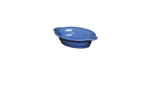 Fiesta 587-337 Individual Oval Casserole, 9-Inch by 5-Inch, Lapis