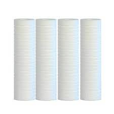Hydronix SGC-25-1005 Compatible Sediment Grooved Water Filter Cartridge, Replaces AP110, 5 micron, 2.5