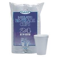 Dart Cont. 12Oz Foam Cups 12Jp24 (Case Pack Of 12) 2 Cases (Cont Foam)