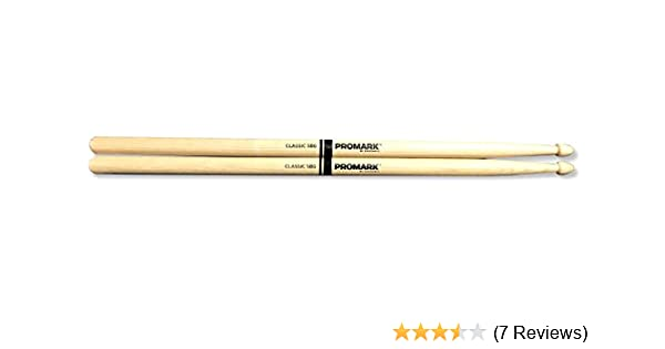 Amazon Promark Hickory 5BG Benny Greb Wood Tip Drumstick Musical Instruments