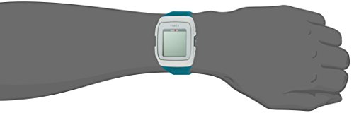 Timex Unisex TW5M12000 Ironman GPS White/Teal Silicone Strap Watch by Timex (Image #3)