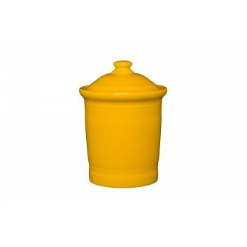 Homer Laughlin 571-342 1 Quart Small Canister, (Small Daffodil)