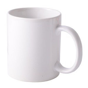 4 pieces White Ceramic Mug coated 11 oz Heat printable Transfer Sublimation dye