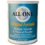 All One Formula Original Powder - All One Nutrition Multiple Vitamin and Mineral Powder, Uned Original Formula, 15.9 Ounce by All One Nutrition