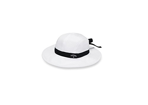 (Callaway Golf Female Womens Sun Hat Golf Hat Headwear 2017 Sun Womens Adjustable White)